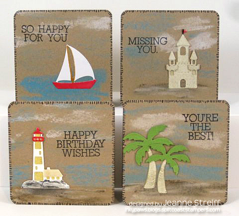 Beach Notes Cards Jeanne_Streiff