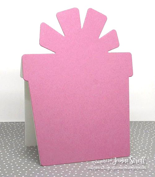 2 Birthday Present Shaped Card Jeanne_Streiff
