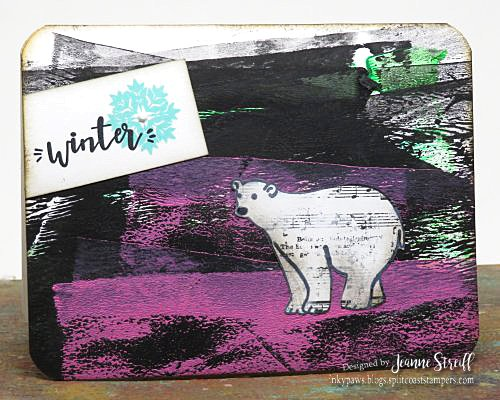 Winter Bear Jeanne_Streiff